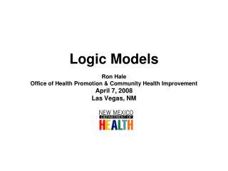 A logic model is :