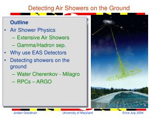 Detecting Air Showers on the Ground