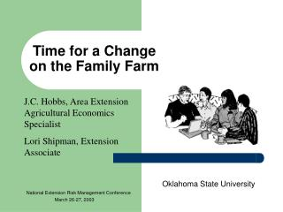 Time for a Change  on the Family Farm