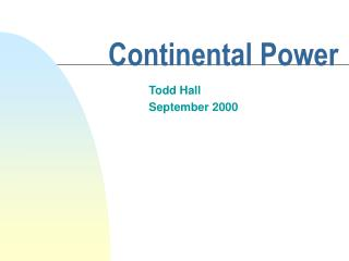 Continental Power