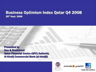 B usiness Optimism Index Qatar Q4 2008 28 th  Sept, 2008