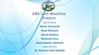 CNC Lath Machine Project