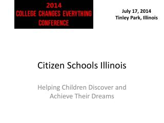 Citizen Schools Illinois