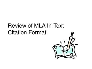 Review of MLA In-Text Citation Format