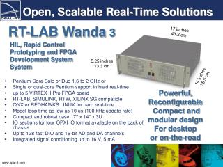 Open, Scalable Real-Time Solutions