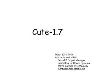 Cute-1.7