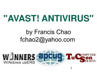 """AVAST! ANTIVIRUS"""