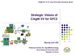 Strategic Visions of  CAgM XV for GFCS