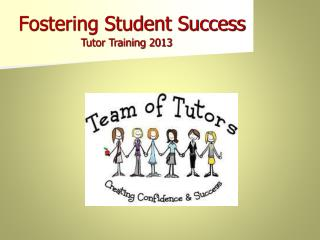 Fostering Student Success