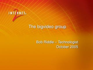 The bigvideo group