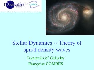 Stellar Dynamics -- Theory of  spiral density waves