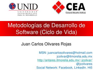 Metodologías de Desarrollo de Software (Ciclo de Vida)