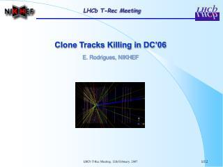 LHCb T-Rec Meeting