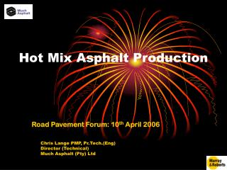 Hot Mix Asphalt Production