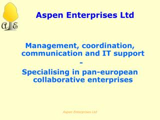 Aspen Enterprises Ltd