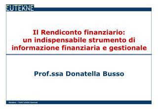 Il Rendiconto finanziario: un indispensabile strumento di informazione finanziaria e gestionale