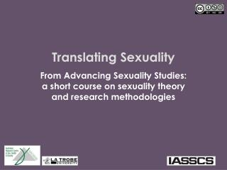 Translating Sexuality