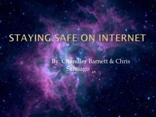 Staying safe on internet