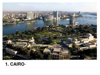 1. CAIRO -