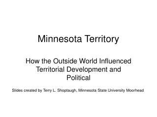 Minnesota Territory