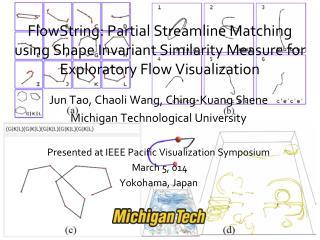 Jun Tao, Chaoli Wang, Ching-Kuang Shene Michigan Technological University