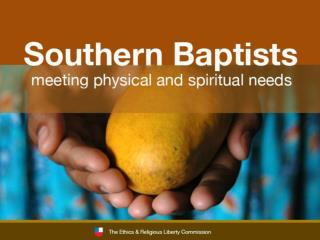 Southern Baptists' gifts for world hunger provided for projects in more than 68 countries in 2008.