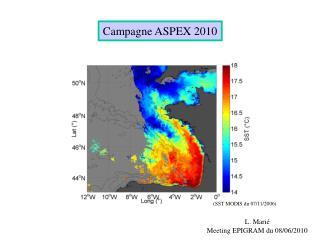 Campagne ASPEX 2010