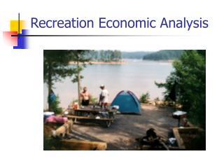 Recreation Economic Analysis