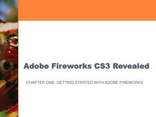 Adobe Fireworks CS3 Revealed