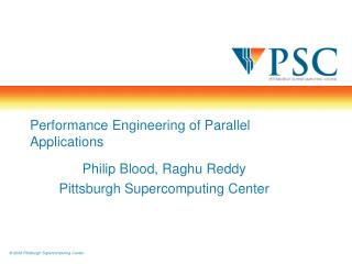 Performance Engineering of Parallel Applications