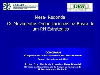 CONOPARH  Congresso Norte Paranaense de Recursos Humanos