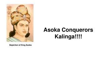 Depiction of King Asoka