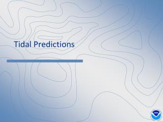 Tidal Predictions