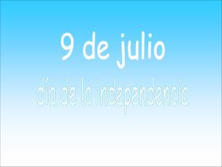 9 de julio
