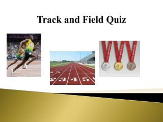Track and Field Quiz