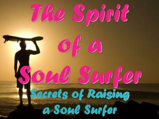 The Spirit  of a  Soul Surfer