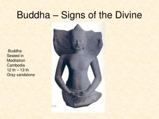 Buddha � Signs of the Divine