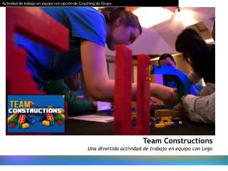 Una divertida actividad de trabajo en equipo con Lego