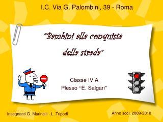I.C. Via G. Palombini, 39 - Roma