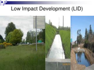 Low Impact Development (LID)
