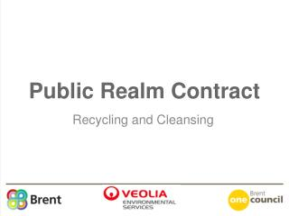 Public Realm Contract