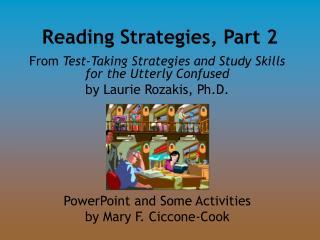 Reading Strategies, Part 2