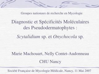 Groupes nationaux de recherche en Mycologie