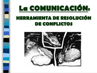 La COMUNICACIÓN :  HERRAMIENTA DE RESOLUCIÓN DE CONFLICTOS