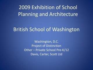 British School of Washington