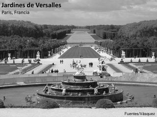 Jardines de Versalles Paris, Francia