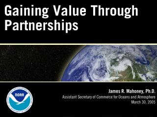 Gaining Value Through Partnerships