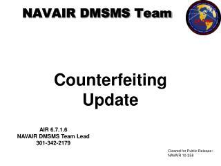 NAVAIR DMSMS Team