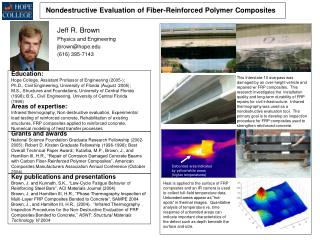 Nondestructive Evaluation of Fiber-Reinforced Polymer Composites