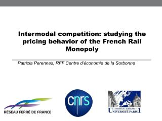 Intermodal competition: studying the pricing behavior of the French Rail Monopoly